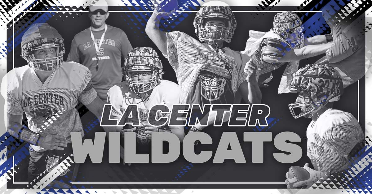 La Center Wildcats, La Center, La Center High School, Trico League, high school football, Tom Lambert, John Lambert, Max Muffett, Andrew Scott