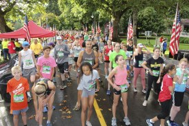 Runners prepare for this weekend's PeaceHealth Appletree Marathon