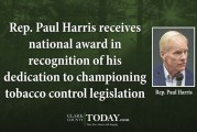 Rep. Paul Harris receives national award in recognition of his dedication to championing tobacco control legislation