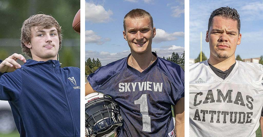 Three standout football recruits share their stories