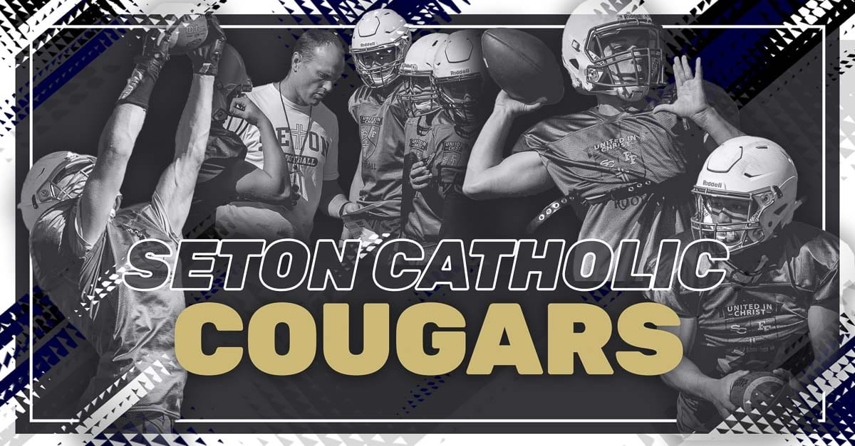 Seton Catholic Cougars, Seton Catholic High School, Vancouver, Trico League, high school football, Dan Chase, Griffin Young, Luke Pitzer, Elijah Volk
