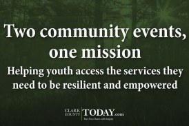 Two community events, one mission