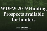 WDFW 2019 Hunting Prospects available for hunters