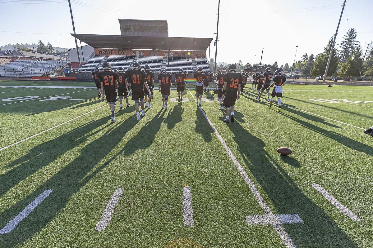 The Washougal Panthers believe they have their best team in years. They hope that means more than just a berth to the playoffs, but a win in the playoffs. Photo by Mike Schultz