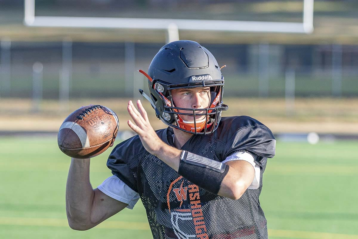 Quarterback Dalton Payne expects a lot of himself. His coaches love his leadership to go with this talent. Photo by Mike Schultz