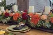 Chandelier Bakery Fall Wedding Showcase