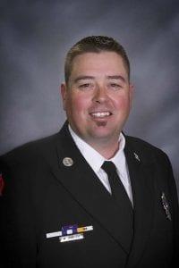 Mike Zainfeld. Photo courtesy of Cowlitz 2 Fire & Rescue