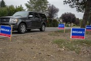 Vancouver man charged with destroying campaign signs