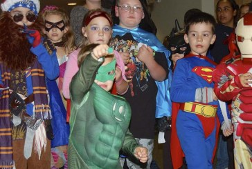 Pumpkin art and superheroes meet for October's First Friday in downtown Camas