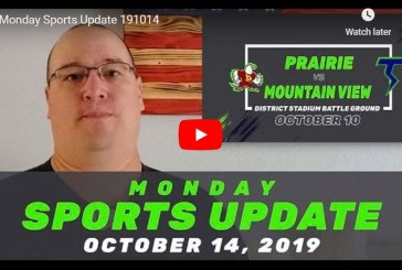Monday Sports Update • October 14, 2019
