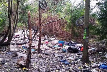 Clark County also struggling with homeless encampments
