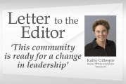 Letter: 'This community is ready for a change in leadership'