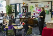 Students in Lewis River Academy learn by doing with hands-on activities and guest lecturers