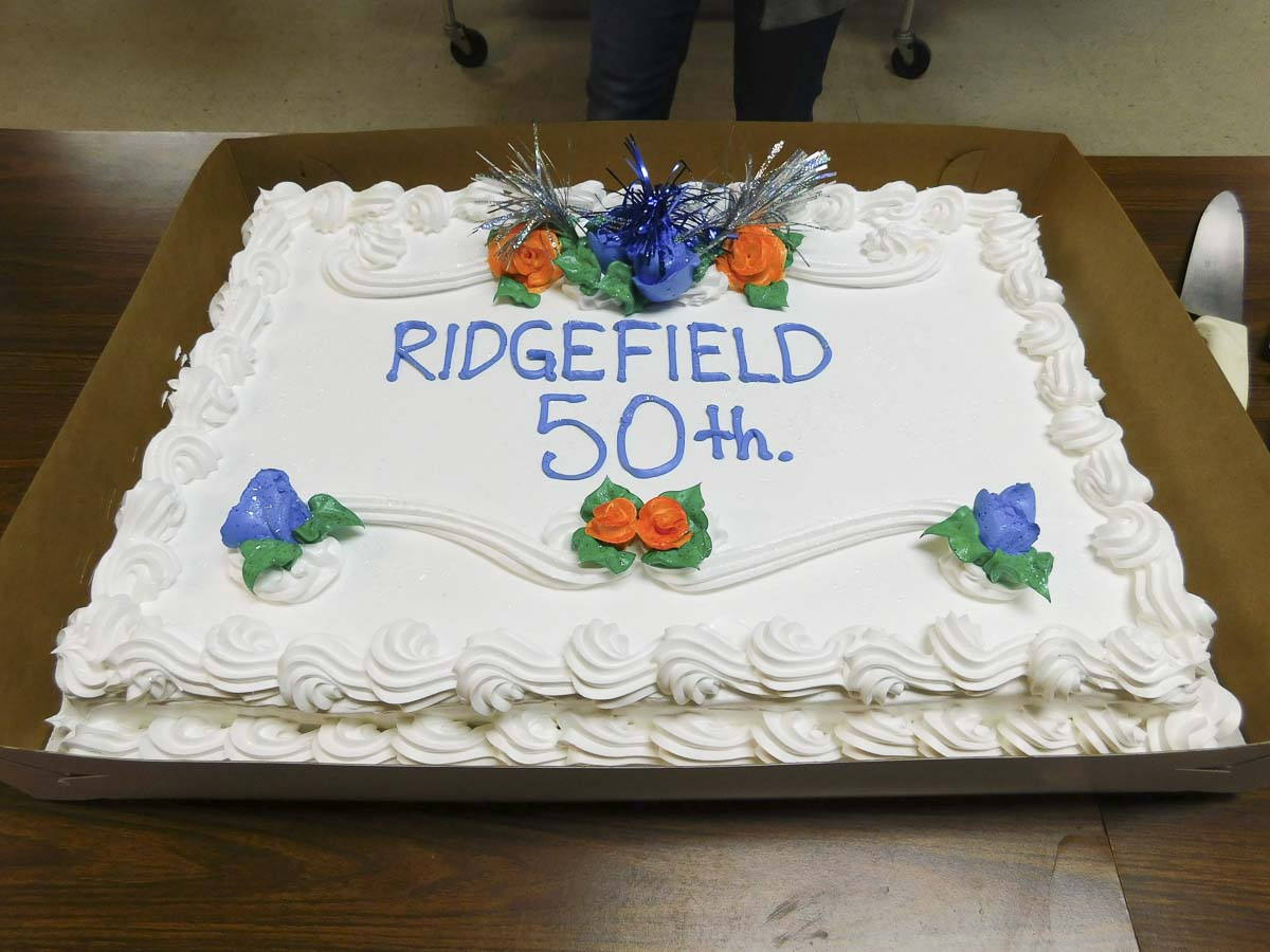 Ridgefield School District celebrated 50 years of attending Cispus Outdoor School this week. Photo courtesy of Ridgefield Public Schools