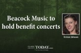 Beacock Music to hold benefit concerts