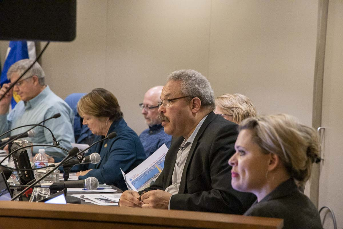 Sen. Lew Frederick, D-Portland, is one of two Portland-area lawmakers on the Oregon delegation for the Joint Interstate 5 Bridge Committee. Photo by Chris Brown