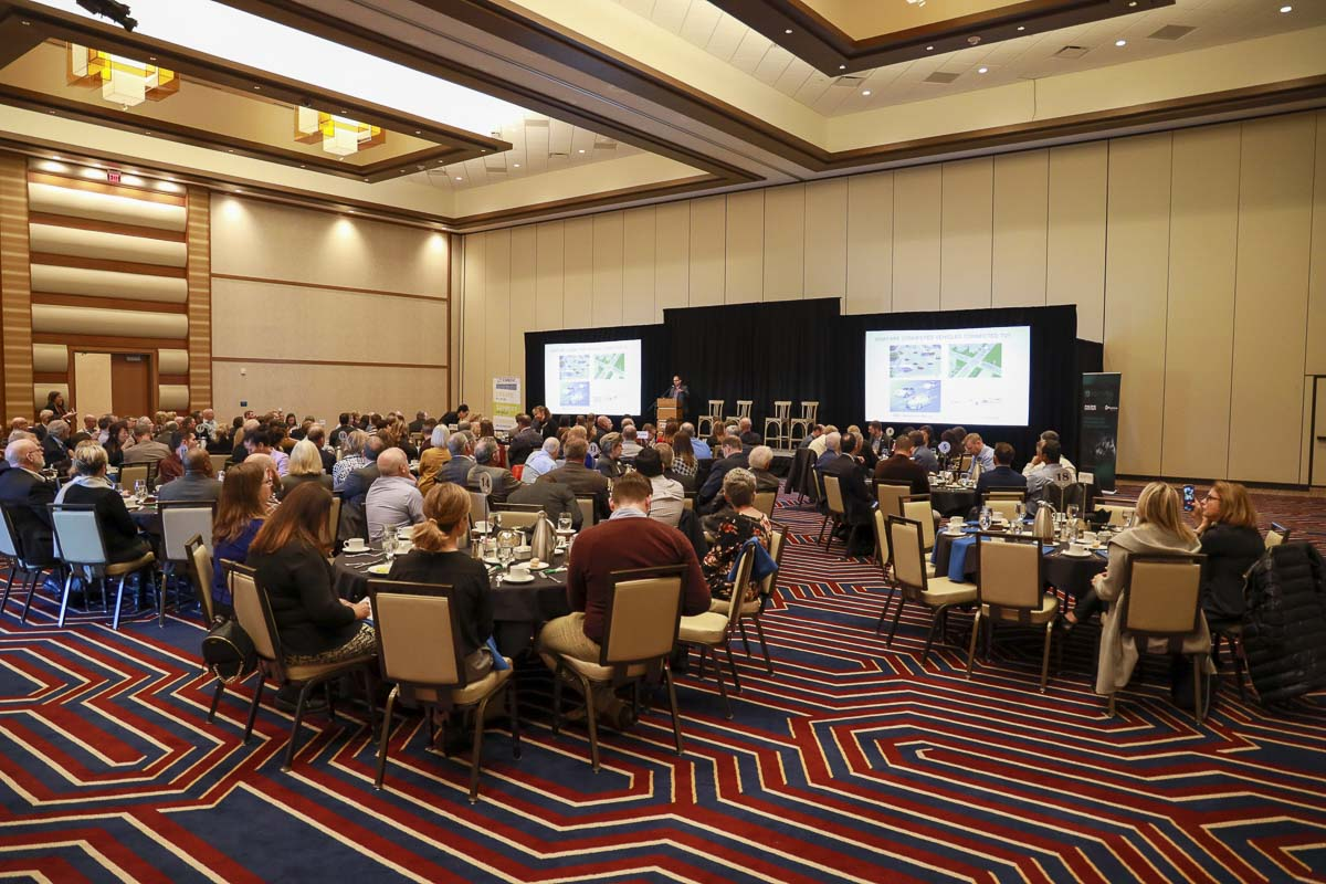 Elected officials and economic leaders gathered at ilani casino on Monday for the CREDC Fall Luncheon. Photo by Chris Brown
