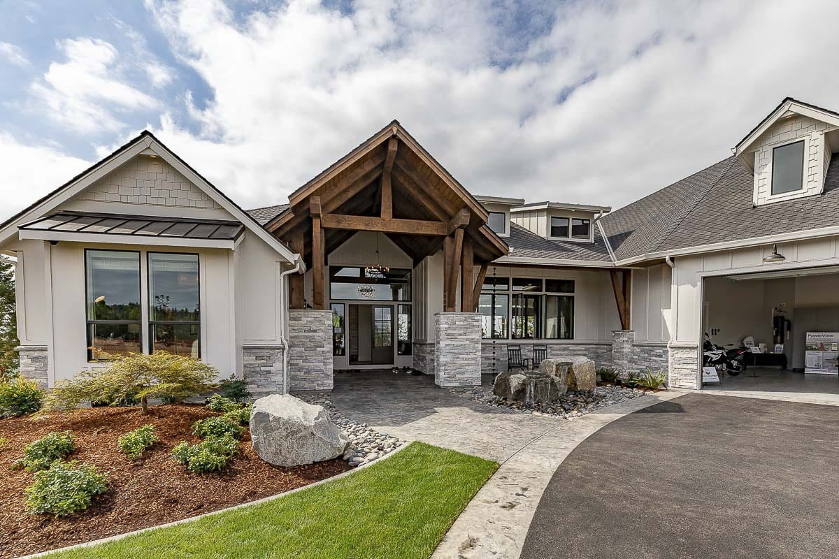 """The Aurora,'' built by Cascade West Development, received 13 awards from the 2019 NW Natural Parade of Homes. Photo by Mike Schultz"