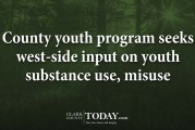 County youth program seeks west-side input on youth substance use, misuse