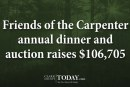 Friends of the Carpenter annual dinner and auction raises $106,705