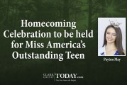 Homecoming Celebration to be held for Miss America's Outstanding Teen Payton May