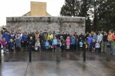 Battle Ground-area residents turn out in the rain to participate in community service project