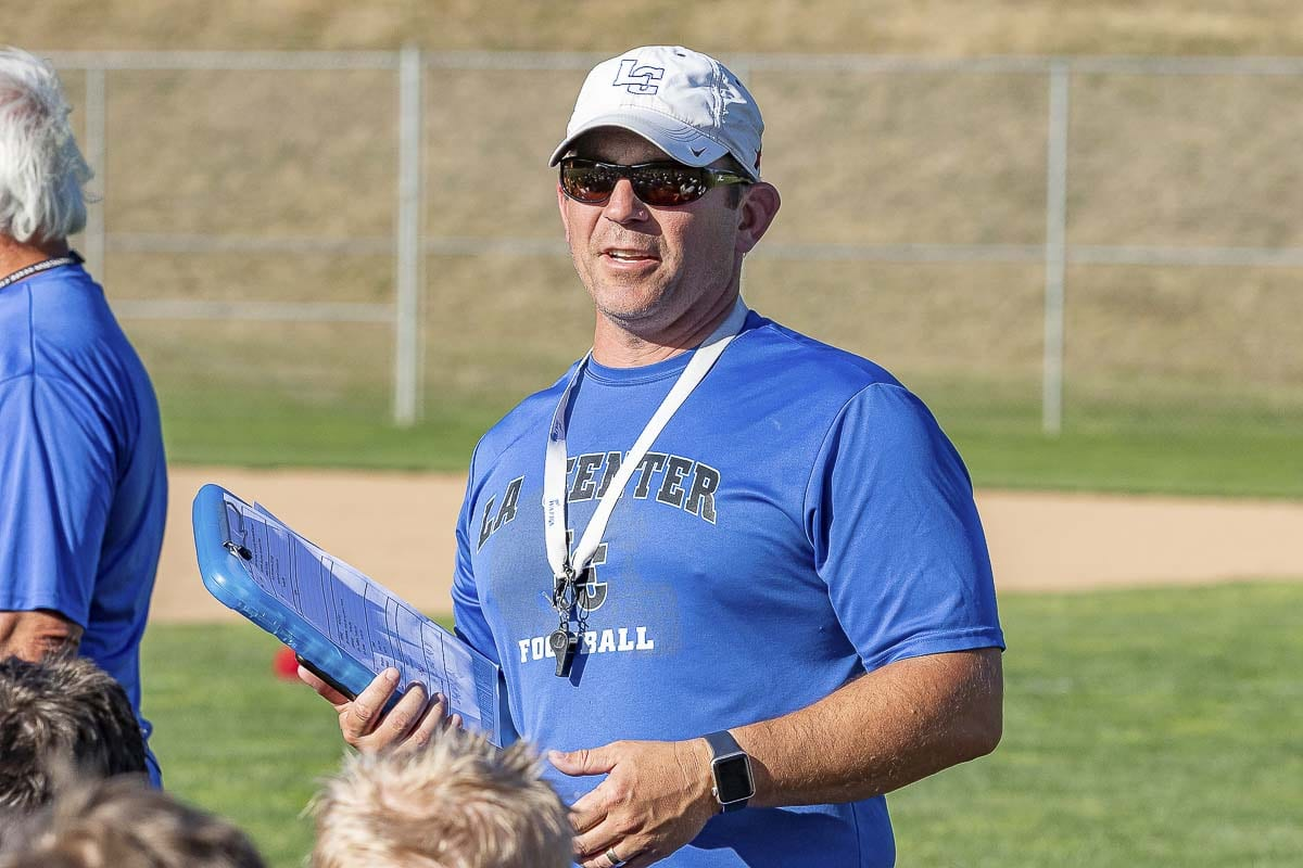 La Center coach John Lambert stands for so much more than wins and losses. He has 150 wins now, but it is the way he lost in 2008 that should be celebrated. Photo by Mike Schultz