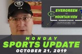 Monday Sports Update • October 21, 2019