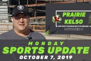 Monday Sports Update • October 7, 2019