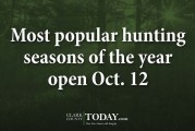 Most popular hunting seasons of the year open Oct. 12