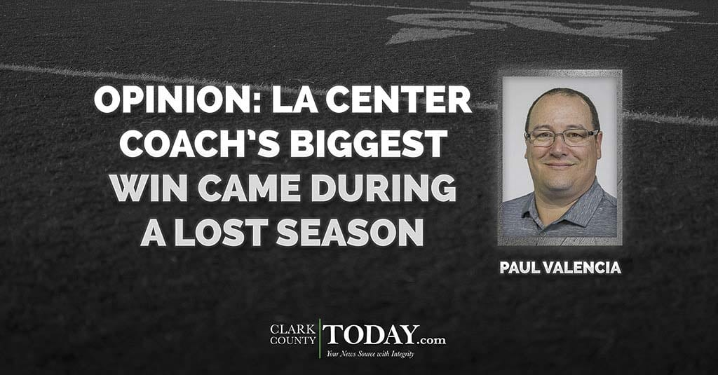 La Center High School football coach John Lambert proved he believes in so much more than winning and losing when he stuck to his principles in 2008.