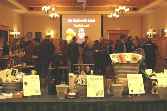 The Police Activities League of SW Washington (PAL) held the 3rd annual evening fundraising event Heart Behind the Badge last week. The event raised $97,000 and an anonymous donor stepped up to add an additional $100,000, bringing the final fundraising for the evening to $197,000. Photo courtesy of Police Activities League of SW Washington