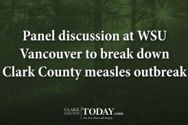 Panel discussion at WSU Vancouver to break down Clark County measles outbreak