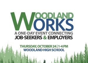 Woodland Works is a one-day job fair resulting from an ongoing partnership between Woodland Public Schools and The Port of Woodland. Photo courtesy of Woodland Public Schools