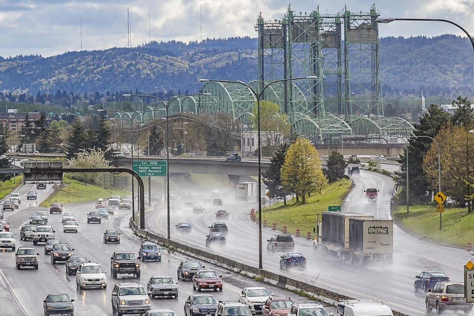 The September 2020 closure is expected to create significant traffic snarls and delays. ODOT is also ramping up its public information campaign advising the public of the project and to plan ahead for the expected congestion and travel impacts. Photo by Mike Schultz