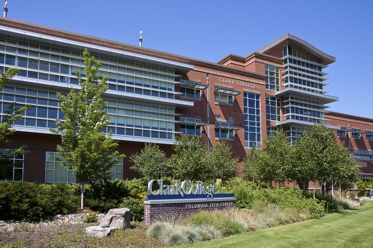 Clark College at Columbia Tech Center opened its doors to students 10 years ago in fall 2009. The 70,000-square-foot building was built with state funding to meet the needs of the eastern portion of the college's service district