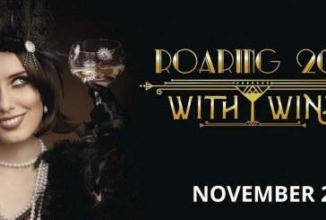 Ridgefield November First Saturday: Roaring 20's with wine
