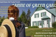 Battle Ground High School Drama to present 'Anne of Green Gables'
