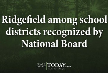 Ridgefield among school districts recognized by National Board
