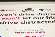 Woodland High School students pledge to help stop distracted driving