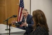 Barry McDonnell sworn in as Camas' next mayor on Nov. 26
