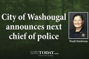 City of Washougal announces next chief of police