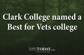 Clark College Best for Vets
