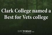 Clark College Best for Vets