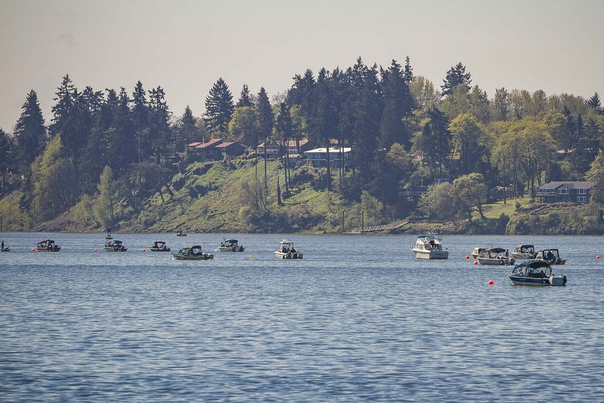 The Joint-State Columbia River Policy Review Committee is working to find common ground for jointly managed fisheries, and emphasizes having concurrent regulations in Washington and Oregon's shared waters. Photo by Mike Schultz