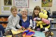 South Ridge Elementary's Crochet Club creates community connections
