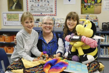 South Ridge Elementary's Crochet Club creates community connections