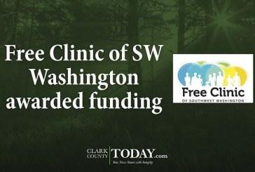 Free Clinic of SW Washington awarded funding