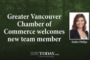 Greater Vancouver Chamber of Commerce welcomes new team member