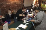 Columbia Springs offers free gift wrapping bags this holiday season